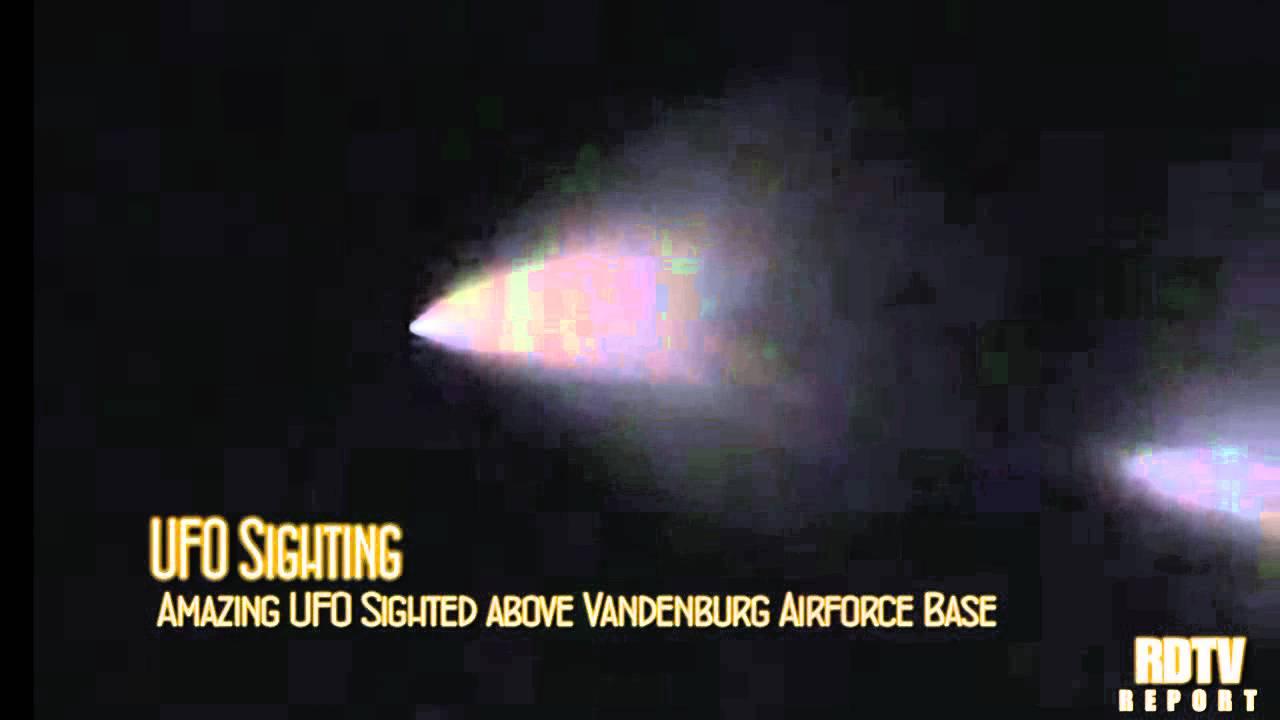 ufo sighting ufo over vandenburg airforce base