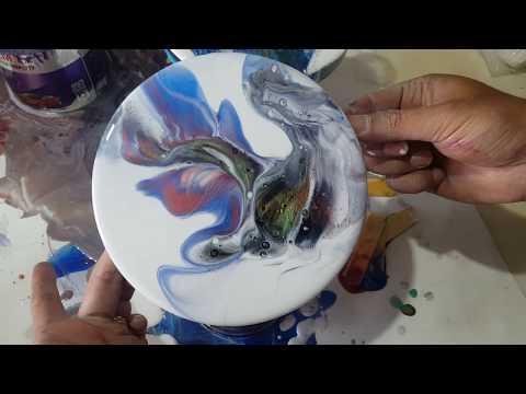 Resin Painting DIY