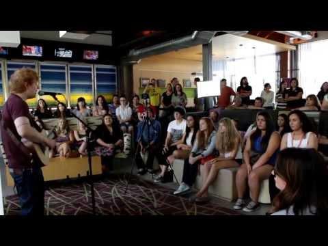 Ed Sheeran private performance (Sneak Peek)