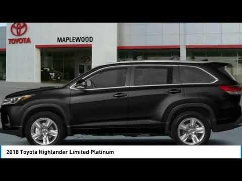 2018 Toyota Highlander Limited Platinum Maplewood, St Paul, Minneapolis, Brooklyn Park, MN J12961