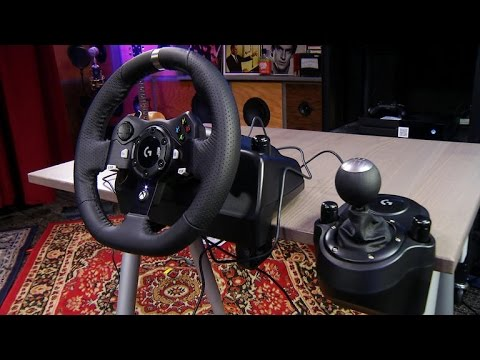 Logitech's G920 Driving Force racing wheel offers the ultimate in  high-octane simulation