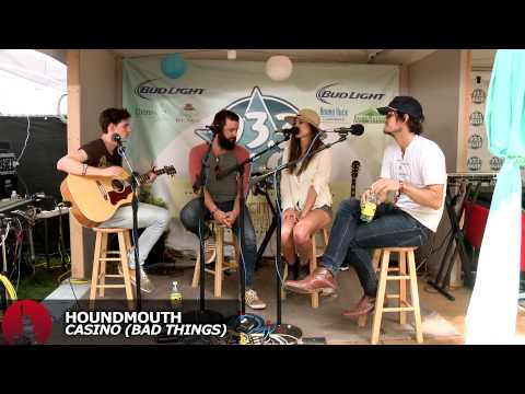 """Houndmouth - """"Penitentiary"""" and """"Casino (Bad Things)"""" Acoustic - ACL 2013"""