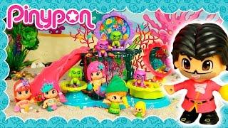 Peter Pan visita el Reino de Sirenas Pinypon