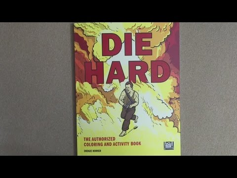Die Hard Coloring Book flip through - YouTube