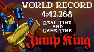 Jump King Speedrun in 4:42.268 RTA/IGT (World Record)