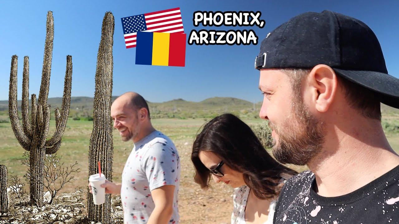 Cum e viata de roman in Arizona, SUA (SALARII, AMENZI si... CACTUSI in desert)