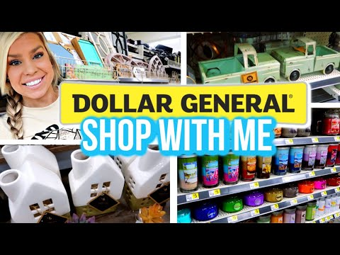 DOLLAR GENERAL HOME DECOR | SHOP WITH ME