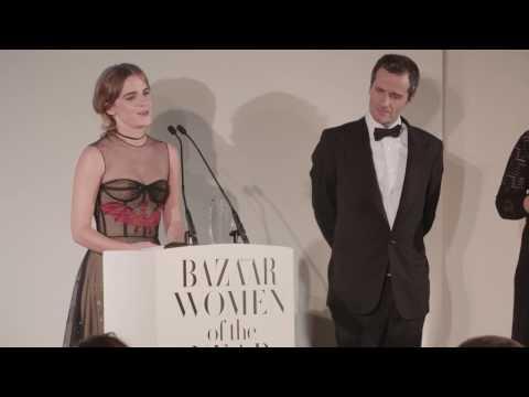 Emma Watson - Harpers Bazaar Women of the Year Awards 2016 speech (FULL HD)