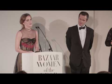 Emma Watson - Harpers Bazaar Women of the Year Awards  speech