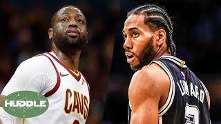 Will Dwayne Wade Retire After Playoffs? Will Kawhi Leonard Return To San Antonio? | Huddle