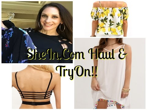SheIn.Com HAUL & TRY ON | SUMMER 2016