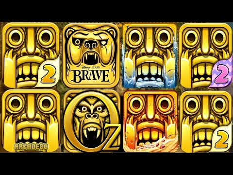 TEMPLE RUN 2 vs TEMPLE RUN BRAVE vs TEMPLE RUN OZ (iOS, Android)
