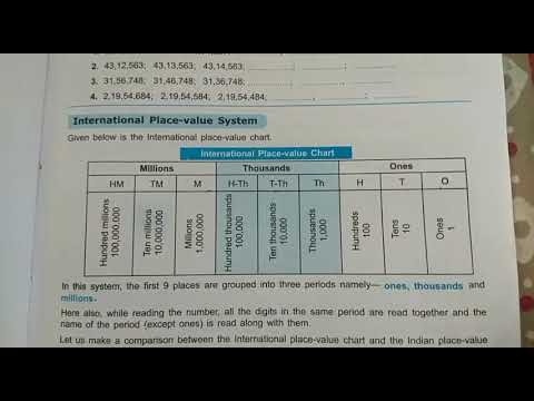 International place value chart - YouTube