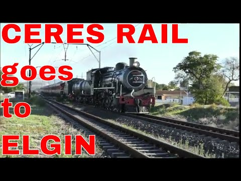 CERES RAIL COMPANY runs Double-header 19D's to ELGIN in the OVERBERG