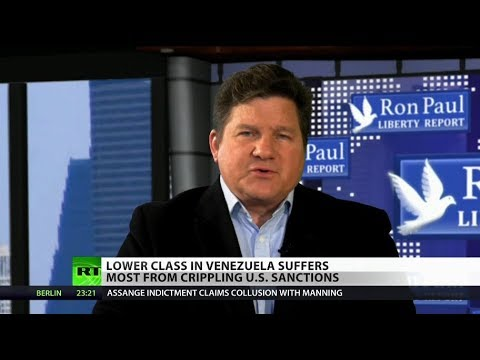 RT America: Sanctions 'hurt the most vulnerable' in Venezuela