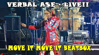 Verbal Ase live at NAMM - Move it Move it
