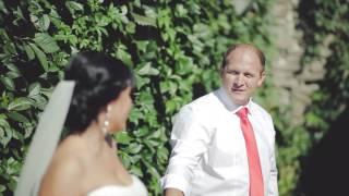 невеста читает рэп жениху на свадьбе (клип)