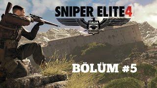Sniper Elite 4 Bölüm #5 - Bir İtalyan mafyası eksikti.