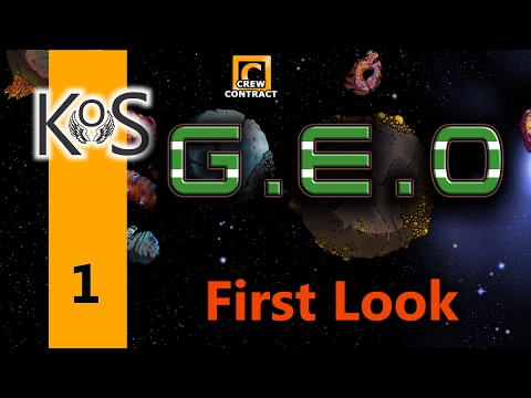 Geo Ep 1: A New Mining Consortium - First Look - Let's Play, Gameplay