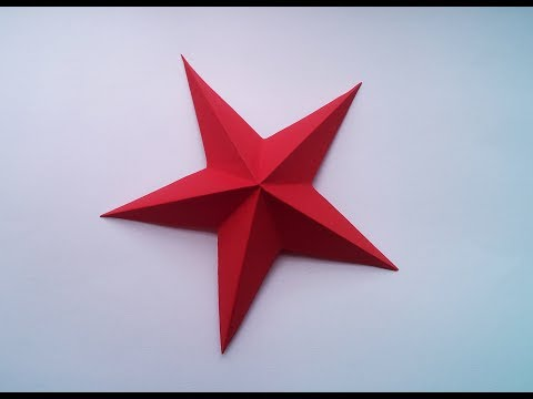 How to make a simple Paper star in 2 minutes