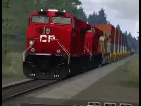 Train Simulator 2016 CANADIAN PACIFIC RAILWAY LIVE