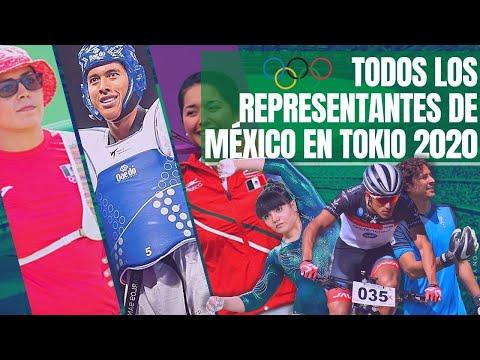 CALENDARIO DE MÉXICO EN TOKIO 2020