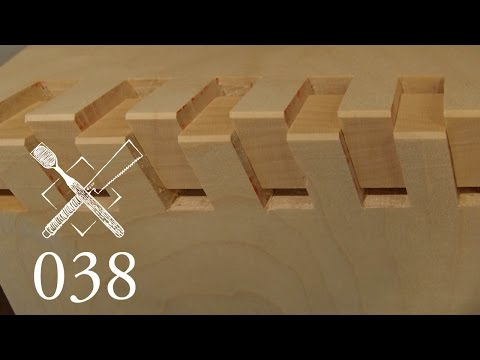 "Joint Venture Ep. 38: Twisted box joint ""Ryonawa kumi tsugi"" (Japanese Joinery)"