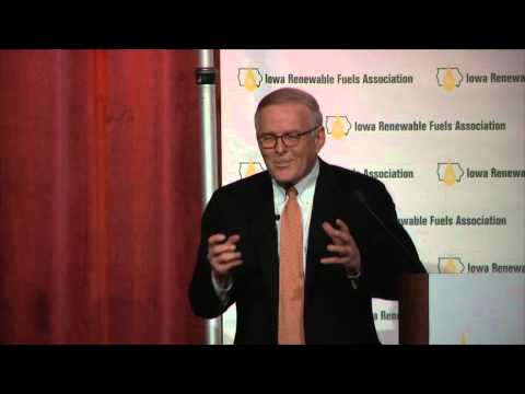 2015 Iowa Renewable Fuels Summit - Former Sen. Bryron Dorgan