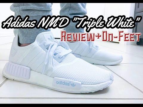 Adidas Nmd R1 Triple White Review