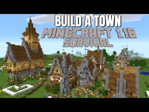Minecraft 1.16 Survival World: Treasure Hunting & How to Build a Church in Minecraft (Avomancia)