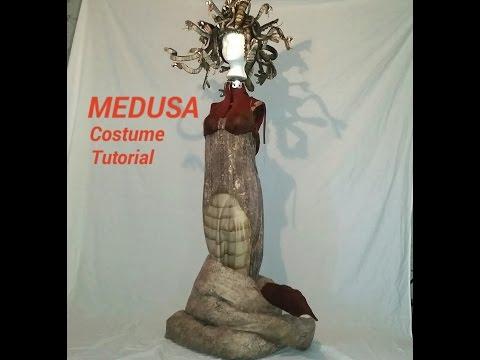 Medusa Costume Tutorial Custom Made Costume For Halloween