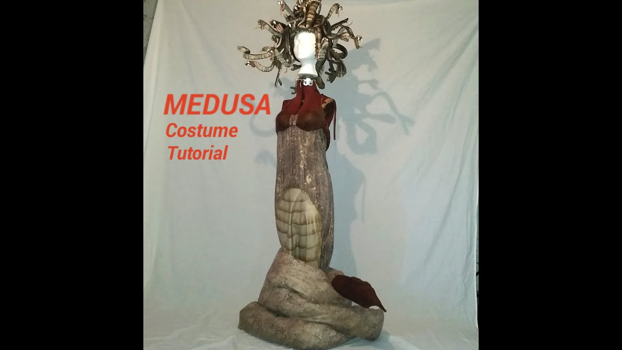 MEDUSA Costume Tutorial Custom Made Costume for Halloween & MEDUSA Costume Tutorial: Custom Made Costume for Halloween - YouTube