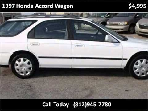 1997 Honda Accord Wagon Used Cars New Albany IN