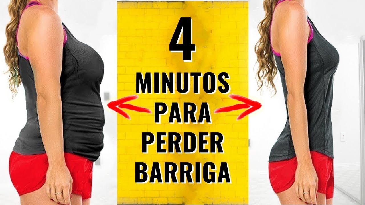 4 MINUTOS PARA PERDER BARRIGA EM CASA! [TESTADO] 8 Exercícios Fáceis Para Perder Barriga Rápido