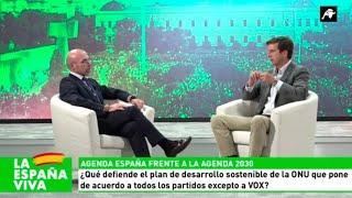 Entrevista a Jorge Buxadé sobre el evento Viva 21 y la Agenda España