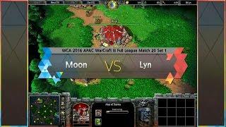 Moon vs Lyn WCA 2016 APAC Warcraft III Full League Match 20 160421 KOR