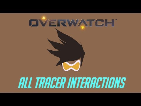 Overwatch - All Tracer Interactions + Unique Kill Quotes thumbnail