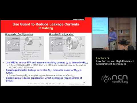 Keithley 4200-SCS Lecture 5: Low Current and High Resistance Measurements