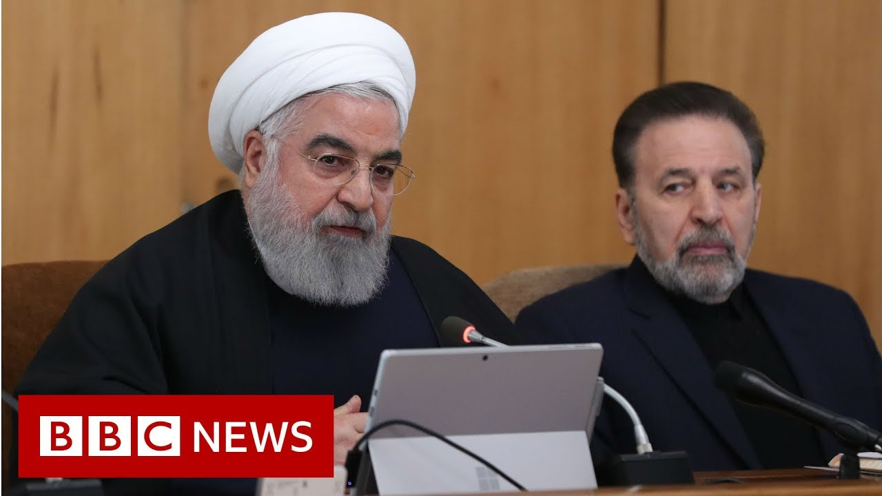 Iran president: US 'feet will be cut off from region'  - BBC News