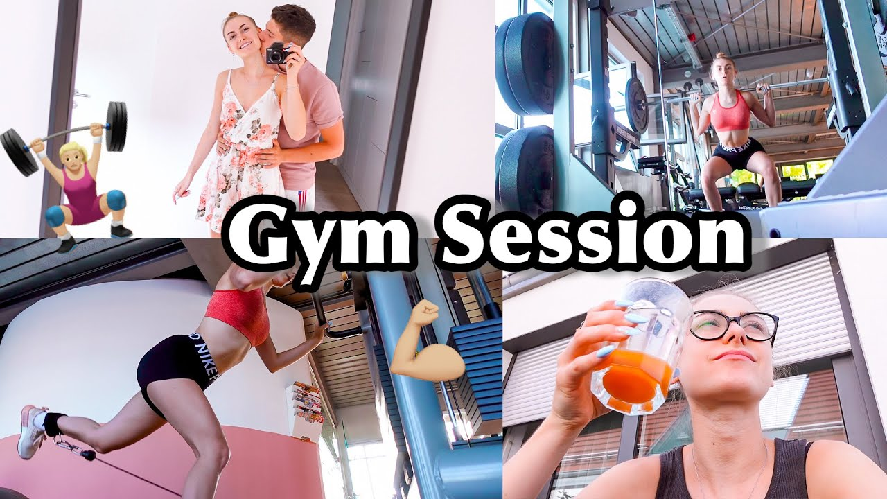 Die Gyms haben wieder offen! Workout with me - Vlog/NicoleDon