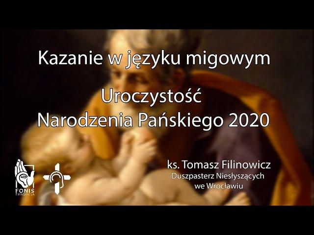 KAZANIE Uroczystość Narodzenia Pańskiego 2020