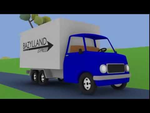 45 Gambar Mobil Truk Biru Gratis