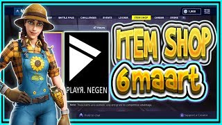 | FORTNITE NL/BE | 13500 vbucks Edit Course | ITEM SHOP 6 MARCH 2019-Playr Nine (English)