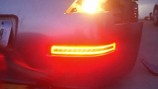 How to Install Nissan 350z Rear LED Turn Signals/ Remove Rear Bumper