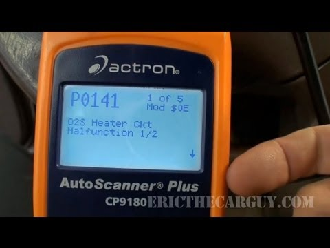 P0141 Diagnosing O2 Sensor Heater Failure Codes -EricTheCarGuy
