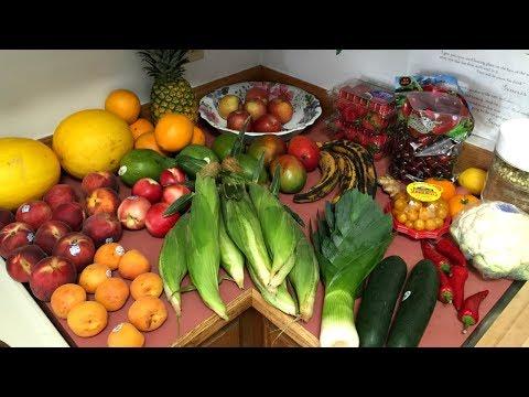 RAW VEGAN:  Unbagging My Alaskan Fruit/Veggie Haul