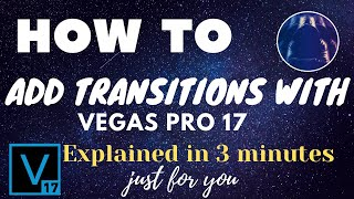 Today I will be showing you how to create cinematic transitions in VEGAS Pro 17! If you enjoy this v.