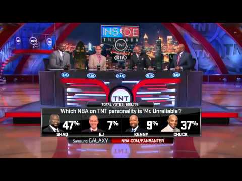 Inside The Nba -  Who Is Mr Unreliable On The Inside Set