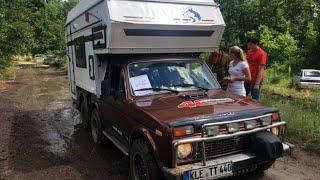 Автодом на базе Нивы, вездеход для российских дорог,чтобы в нем жить.