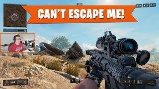 YOU CAN'T ESCAPE ME! | Black Ops 4 Blackout | PS4 Pro